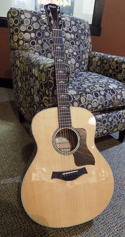 Taylor 618e 2016 Sitka Spruce/Flamed Maple