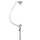 "ProX XMB20STAND White 20"" Mirror Ball Hook with 1 RPM motor"