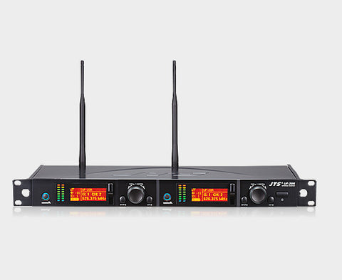 JTS UF-20R Dual Channel Wideband True Diversity Receiver