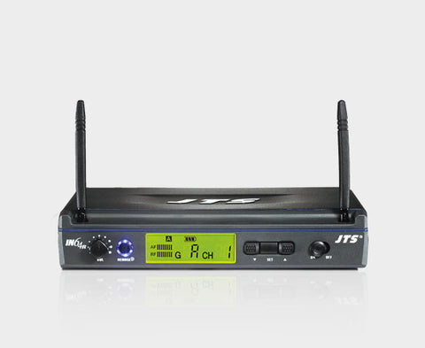 JTS IN164R UHF PLL single channel  diversity wireless receiver