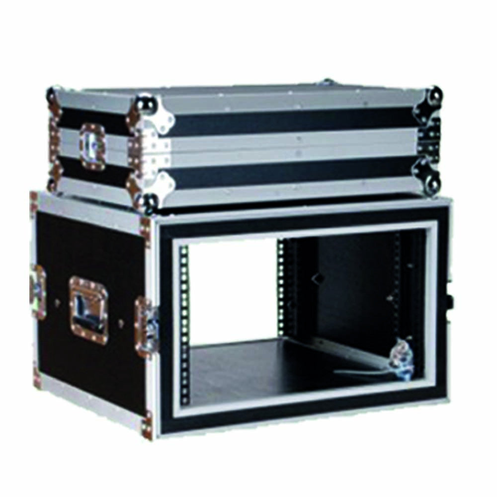 "ProX T-6RSP 6U Space Shockproof Amp Rack ATA Flight Case 20"" Depth"