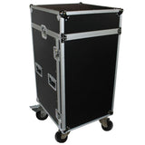 ProX T-18MRSS* 18U Rack x 10U Top Mixer DJ Combo Flight Case
