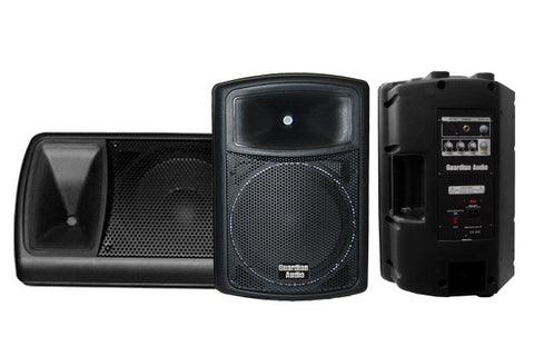 "Guardian ABS10A Active 10"" speaker in ABS cabinet"