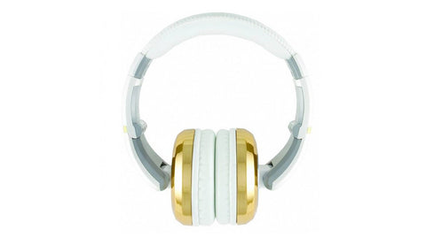 CAD Audio MH510GD Closed-back Studio Headphones - Gold/White - Two Cables, Two Sets Earpads