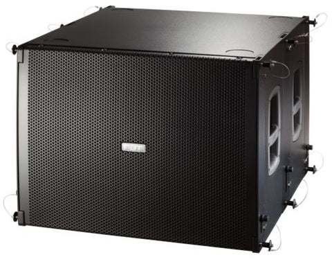 FBT MUSE 118FSA 1200W 139dB SPL Processed Cardioid-Flyable Active Subwoofer