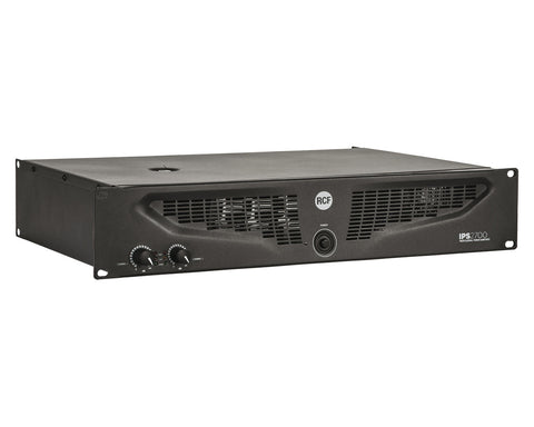 RCF IPS 2700 2 x 1100 W CLASS H PROFESSIONAL POWER AMPLIFIER