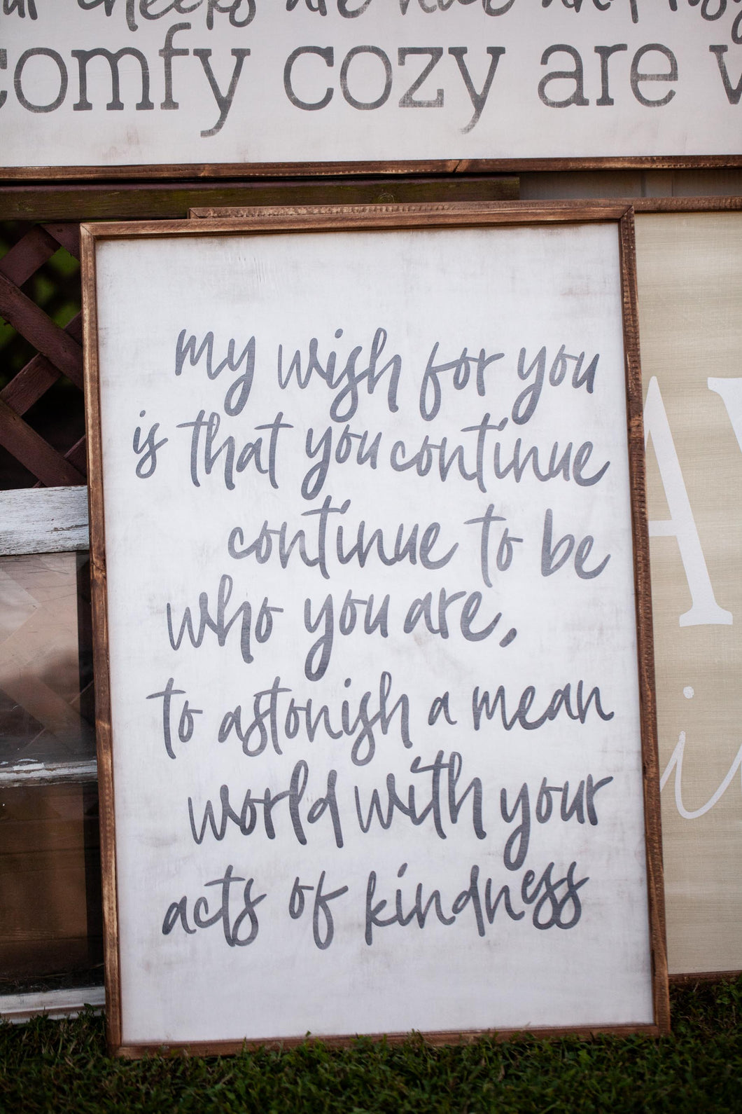 Maya Angelou My Wish For You Our Kindred Home