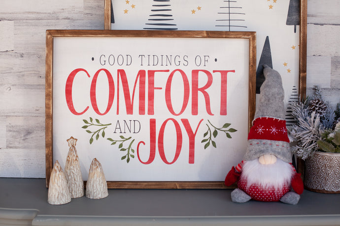 Good Tidings of Comfort and Joy