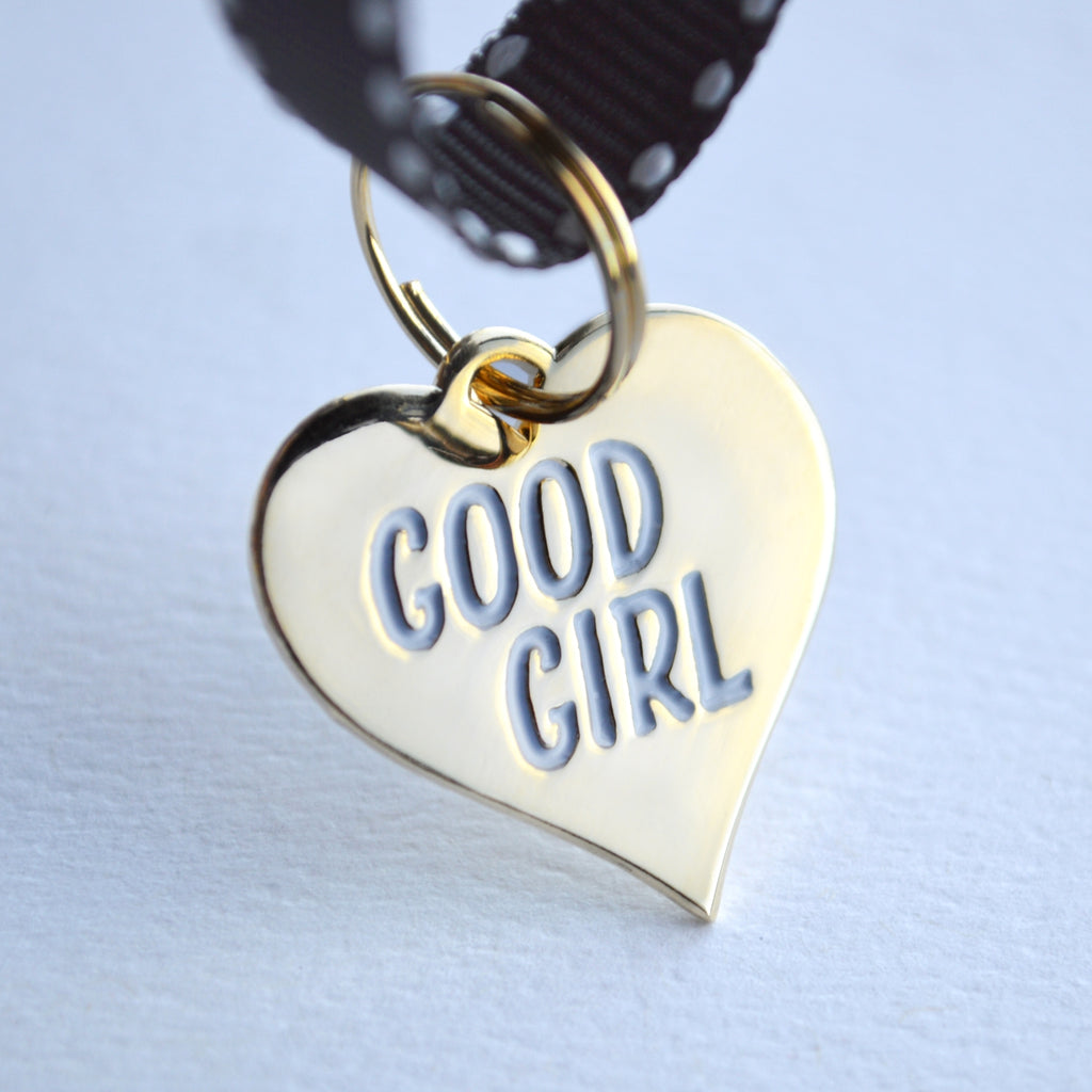 Boldfaced Goods - Good Girl Dog Tag
