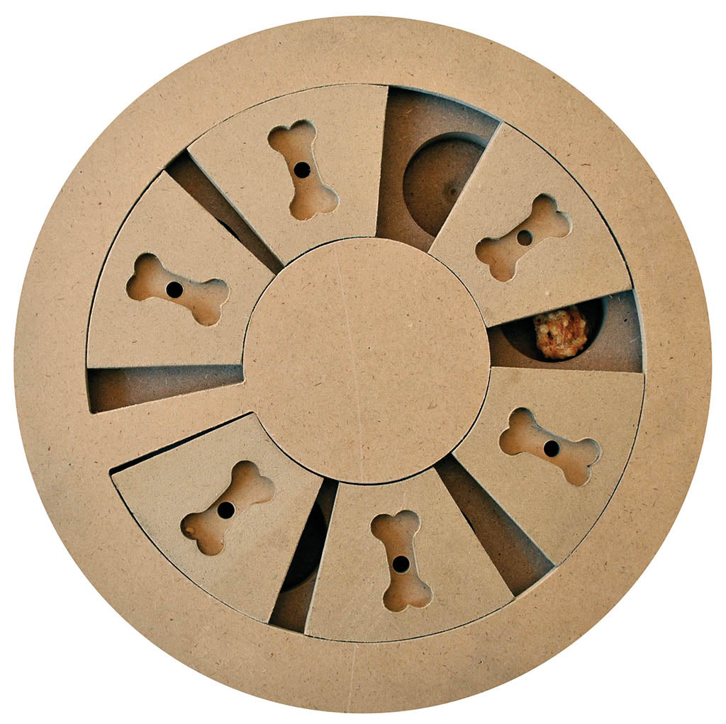 SPOT Ethical  - Wooden Treat Puzzle - Discovery Wheel