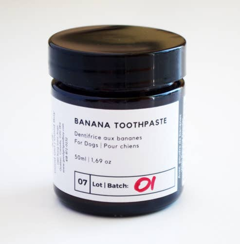 Good Girl Good Boy | Coconut Oil Toothpaste with Fruit Extract - Banana