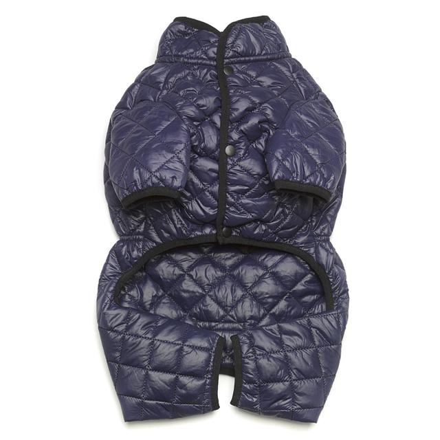 Love thy Beast - Quilted Snowsuit Coat - Navy