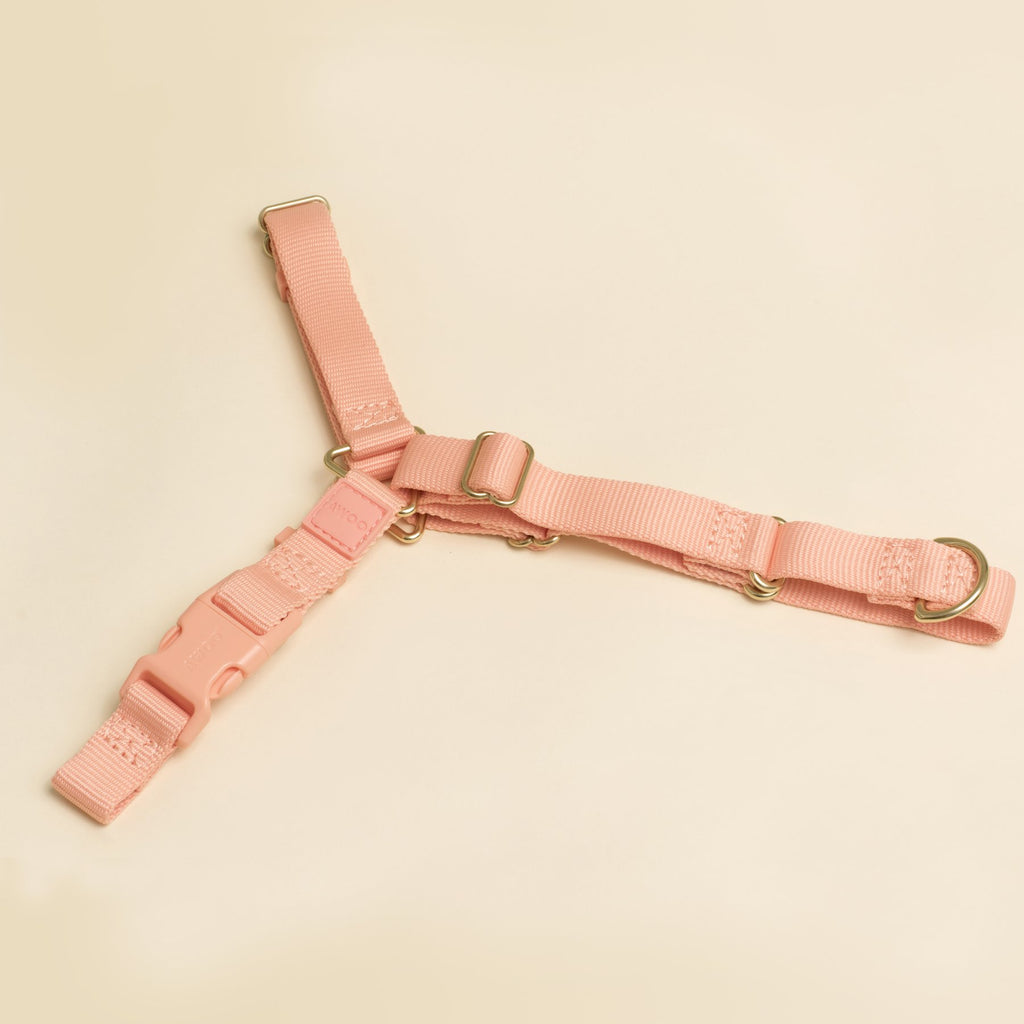Awoo Roam No-Pull Harness - Light Pink