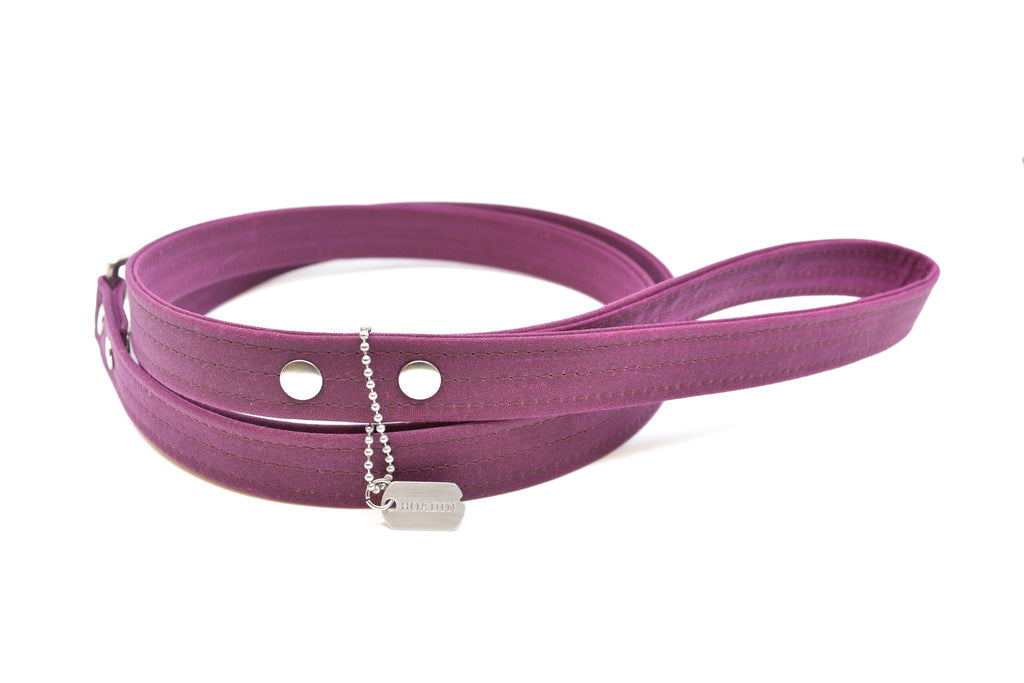 Hoadin Waxed Canvas Dog Leash (Colors)