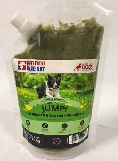 Red Dog Blue Kat Raw Food - JUMP! Buffalo Broth Smoothie