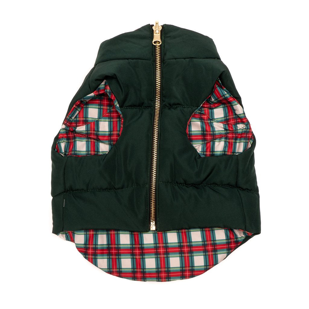 Lucy & Co Reversible Puffer Vest - Good Tidings