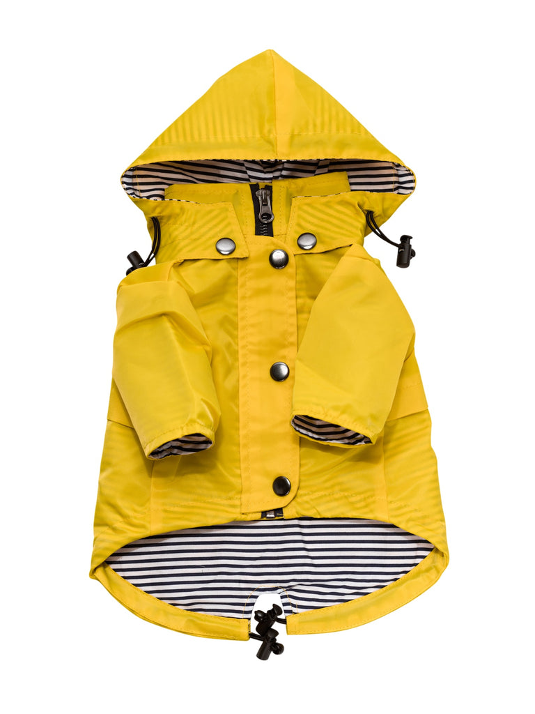 Ellie Dog Wear Raincoat - Yellow
