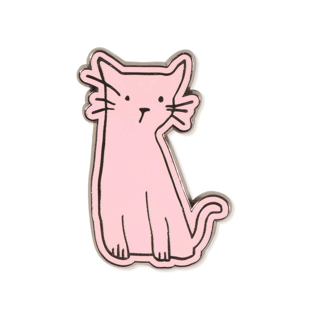 Fringe Studio - Whiskers Enamel Pin