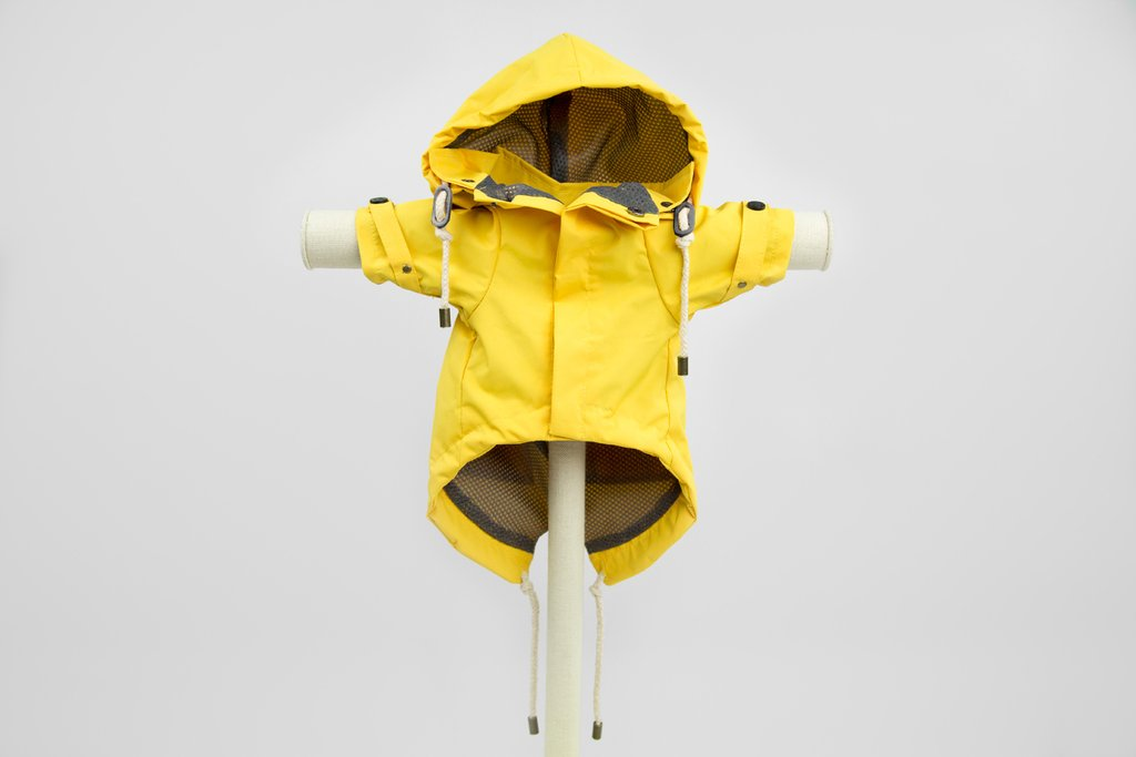 Max-Bone Talon Raincoat - Yellow