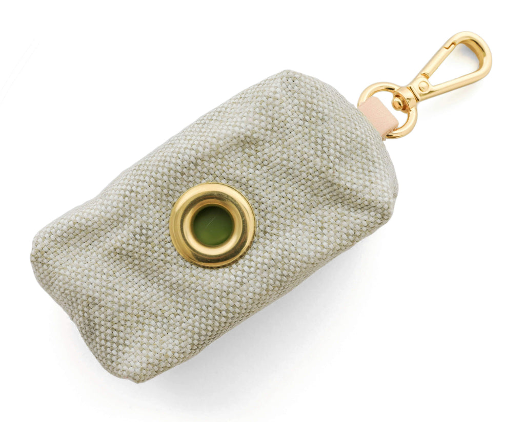 Foggy Dog Poop Bag Holder - Taupe