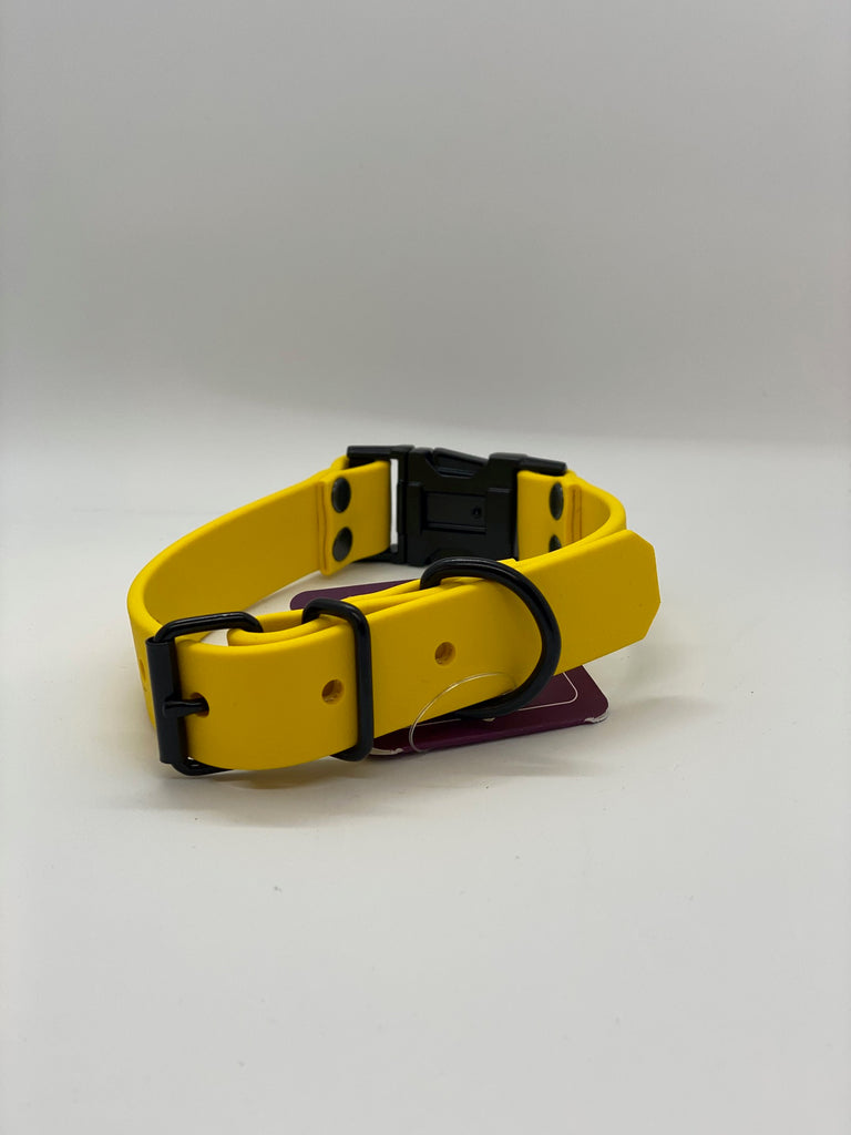 DogDog Goose - Elessar Collar in Yellow Biothane