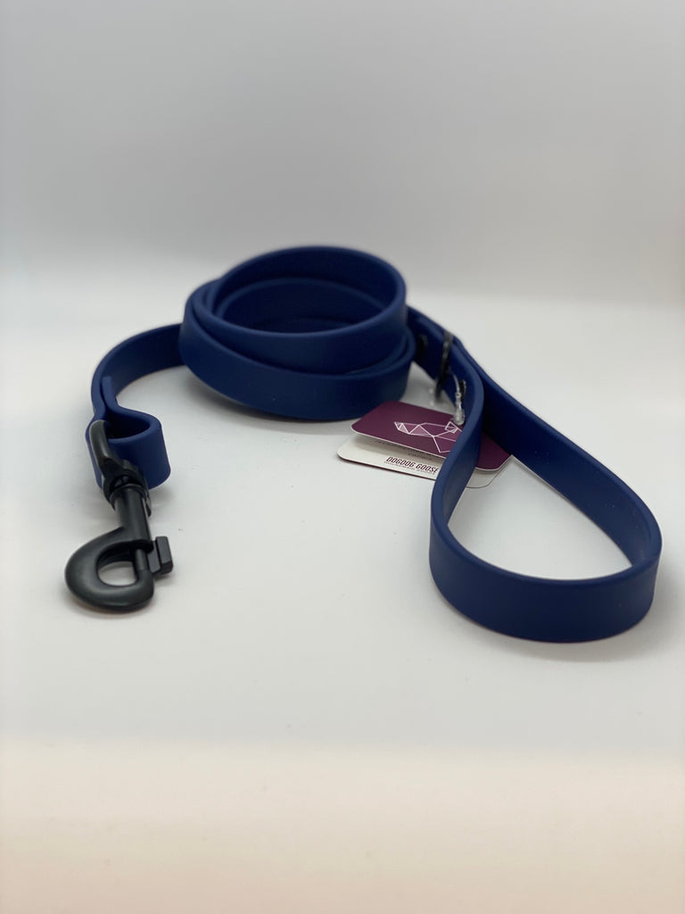 DogDog Goose Biothane Waterproof Leash - Navy