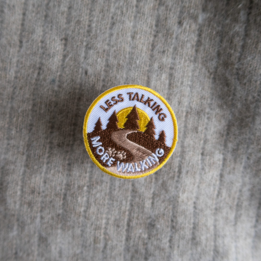Scouts Honour Merit Badge - Less Talking more Walking