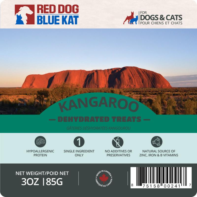 Red Dog Blue Kat - Dehydrated Kangaroo Treats