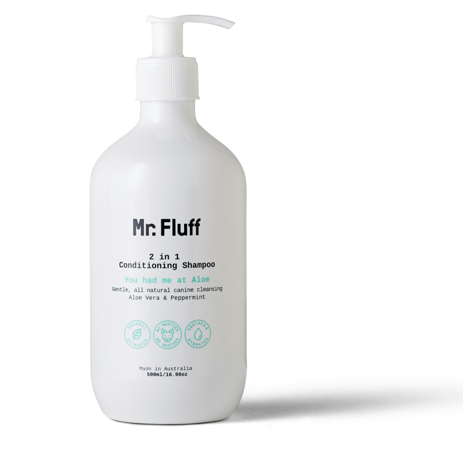 Mr. Fluff 2 in 1 Conditioning Shampoo | You had me at Aloe | 500ml