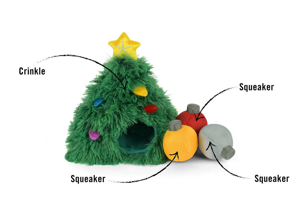 P.L.A.Y Interactive Holiday Tree Plush toy