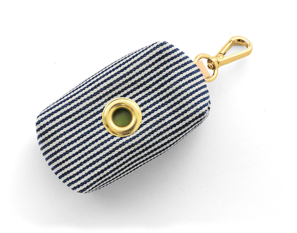 Foggy Dog Poop Bag Holder - Stripe