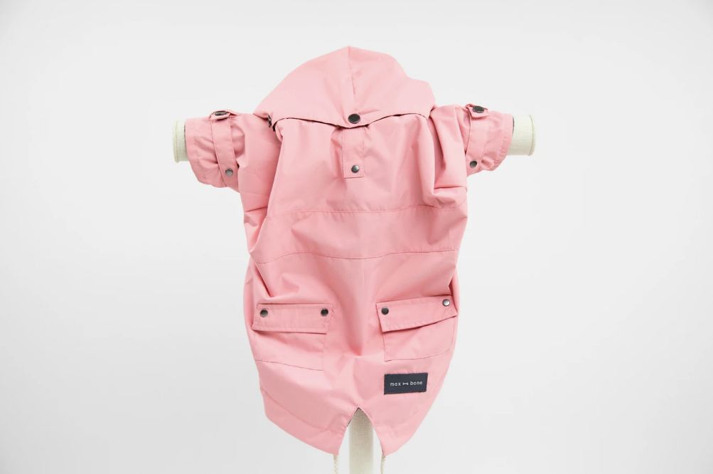 Max-Bone Talon Raincoat - Pink