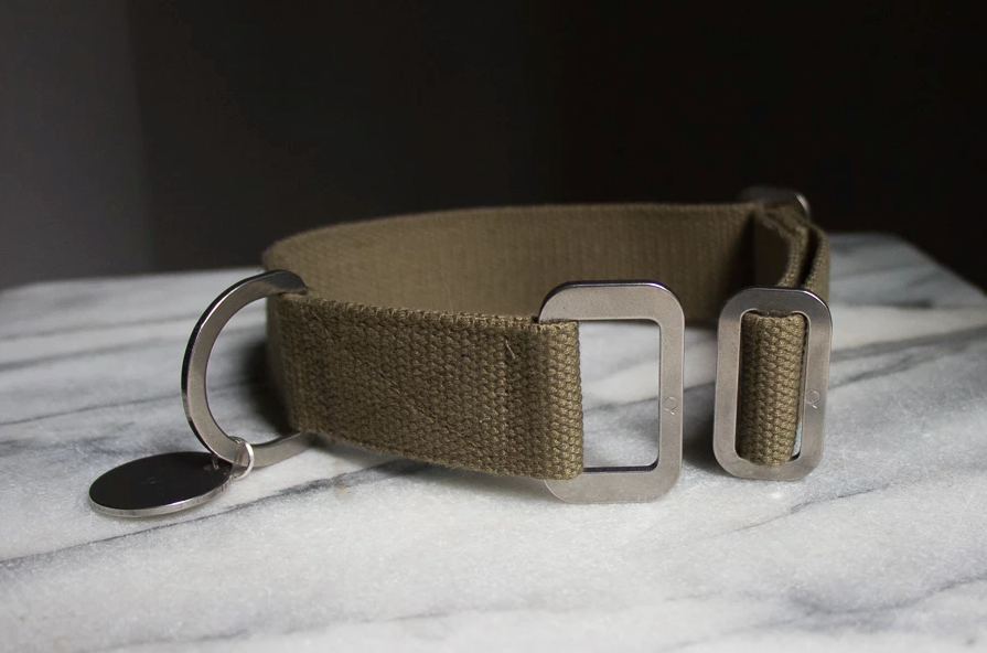 Hindquarters - Canvas Collar - Khaki
