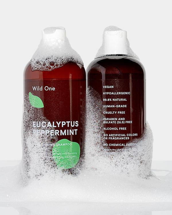 Wild One Conditioning Shampoo - Eucalyptus Peppermint