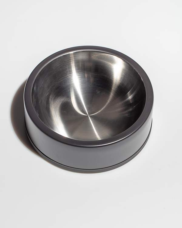 Wild One Stainless Bowl - Black