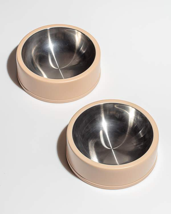 Wild One Stainless Bowl - Tan