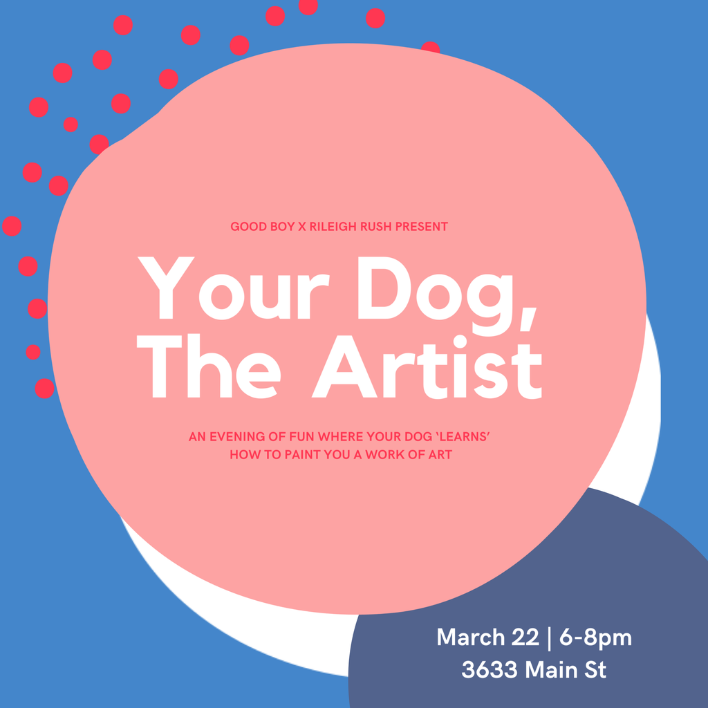 Your Dog, The Artist - Painting Workshop