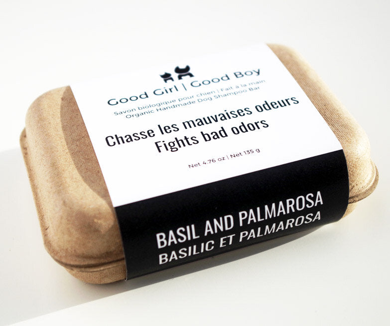 Good Boy Good Girl | Basil and Palmorosa Organic Soap - Calming