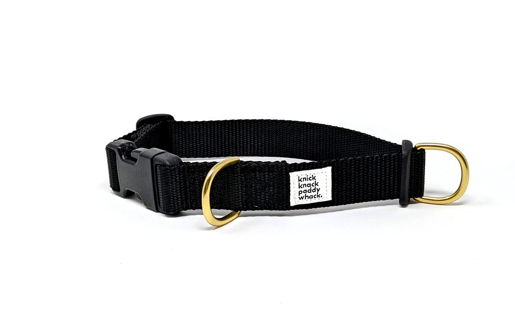 Knick Knack Paddy Whack - Collar - Black