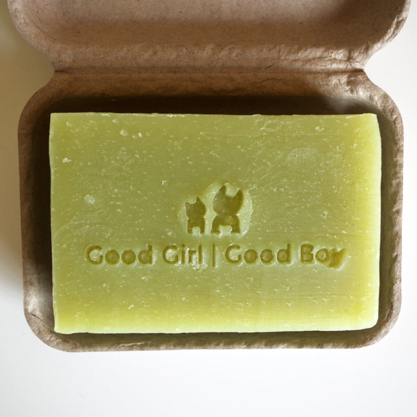 Good Boy Good Girl | Hemp and Chamomile Organic Soap - Calming