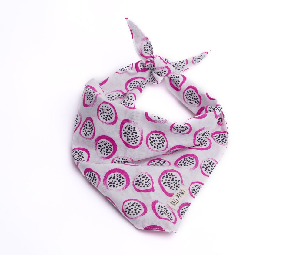 The Paws Bali Bandana - Dragon Fruit