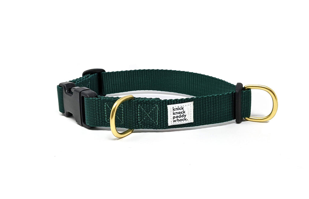 Knick Knack Paddy Whack - Collar - Green