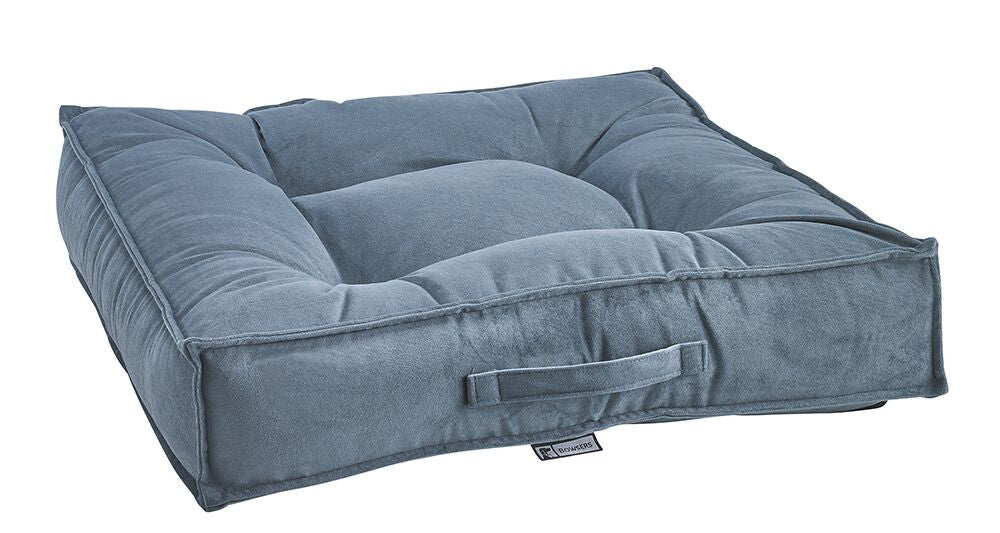 Bowsers Square Bed - Harbour Blue