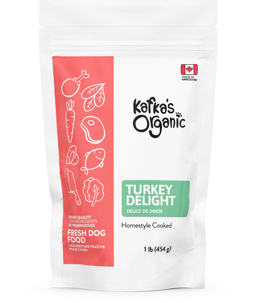 FOR DOG: Kafka Organics Wet Food (FROZEN)