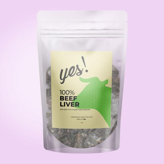 Yes! Dog Treats - Beef Liver