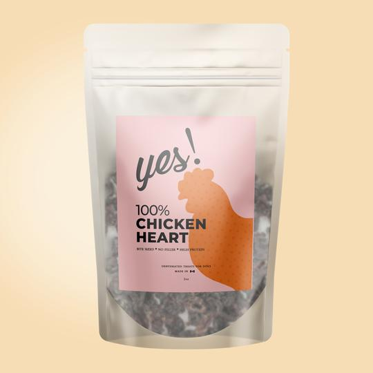 Yes! Dog Treats - Chicken Heart