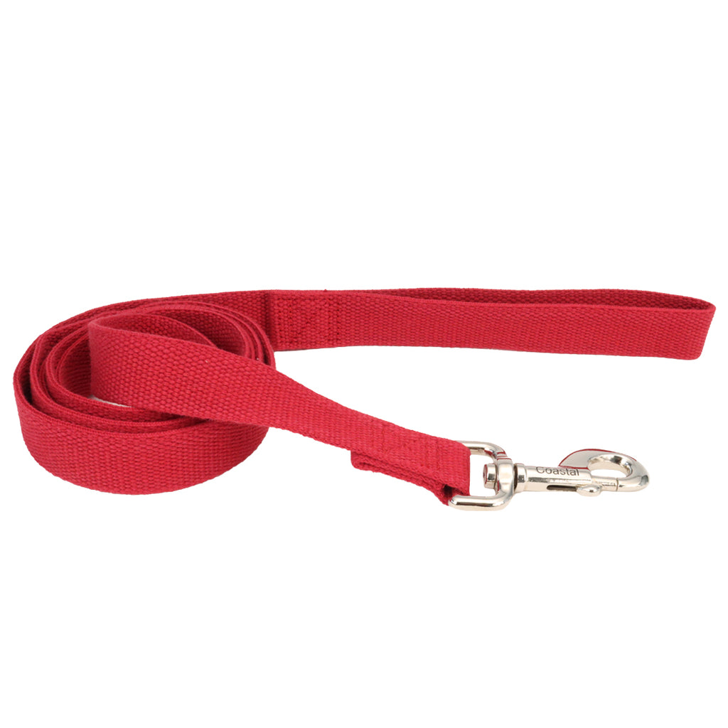 New Earth - Soy Comfort Leash - Cranberry