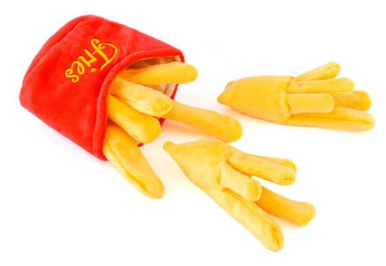 P.L.A.Y French Fries Dog Toy