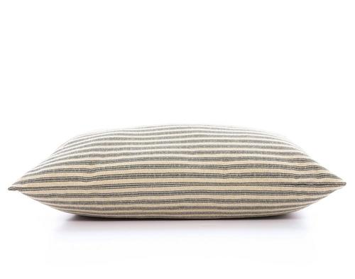 The Foggy Dog Ticking Stripe Dog Bed