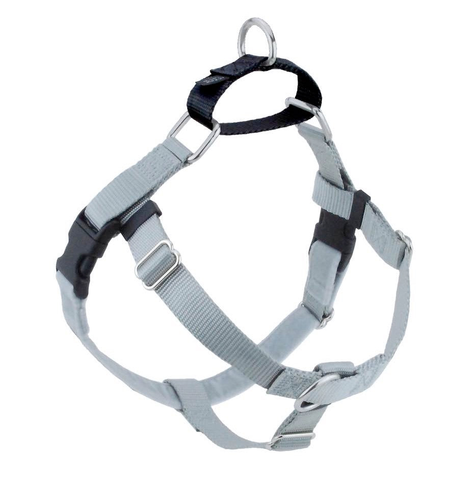 2 Hounds Design -  Freedom No Pull Harness  - Silver